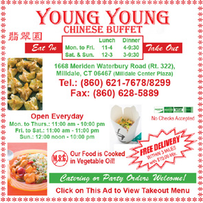 Young Young Chinese Buffet Milldale / Southington CT